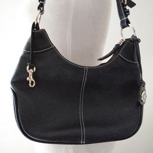Dooney and Bourke all weather leather hobo purse